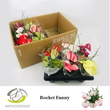 Funny Boeket 5 bloem